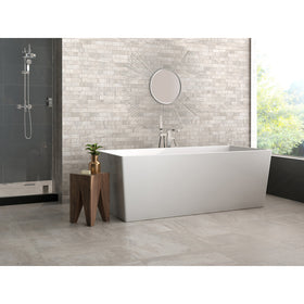 Interceramic - Amalfi Stone - Bianco Scala Ceramic Mosaic
