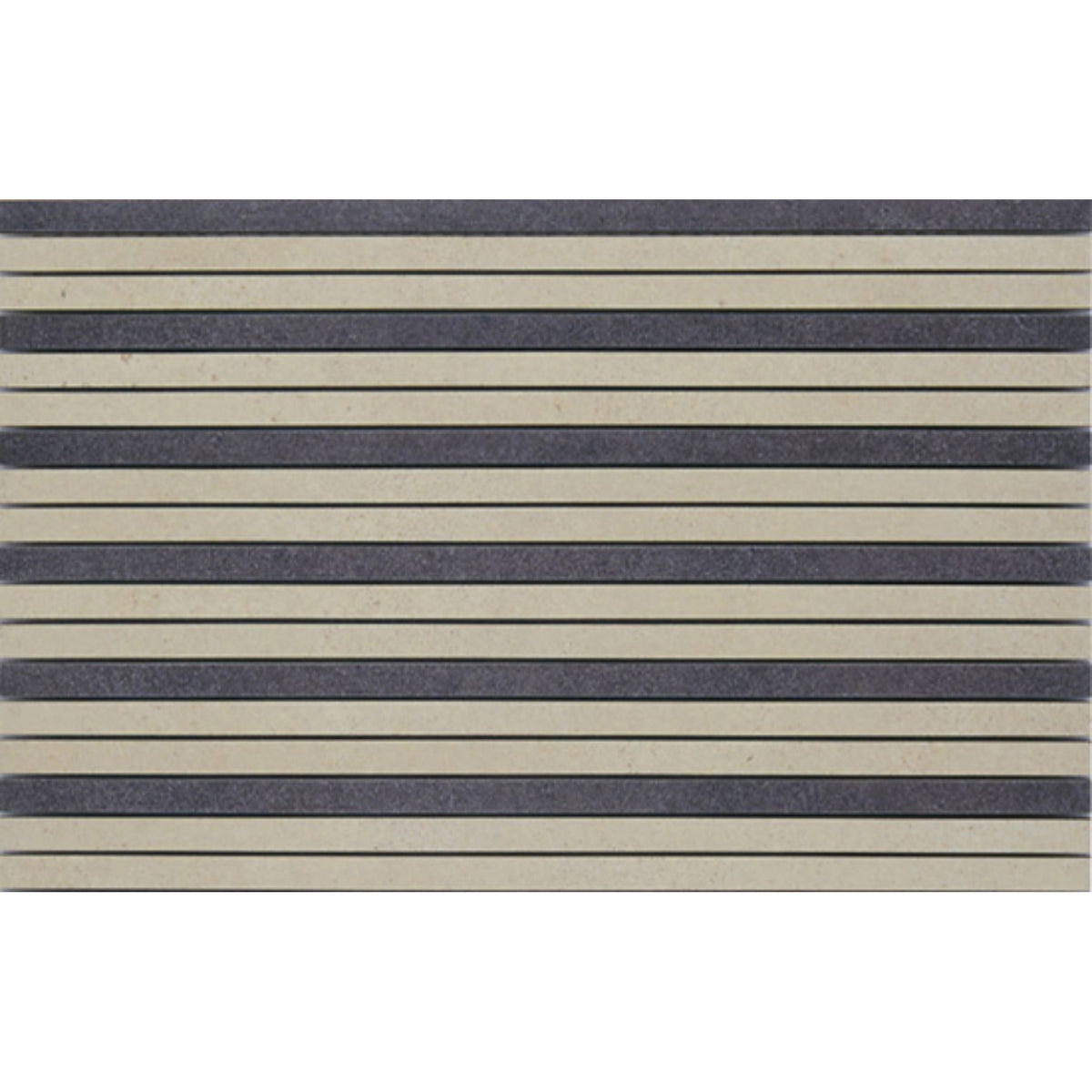 Interceramic - Habitat - Marrone 16 in. x 24 in. Linear Mosaic
