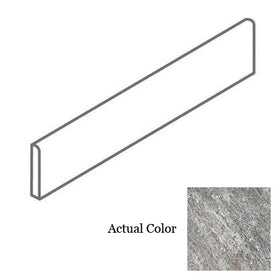 Interceramic - Quartzite Silver 3 in. x 12 in. Bullnose