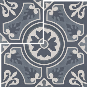Interceramic - Union Square 8 in. x 8 in. Ceramic Tile - Hudson