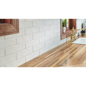 MSI - Brickstone 2 in. x 10 in. Porcelain Tile - White Room Scene