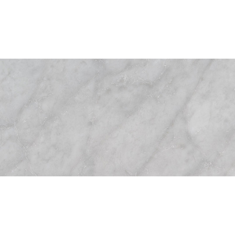 Msi Carrara White 6 In X 12 In Marble Tile Polished Floorzz