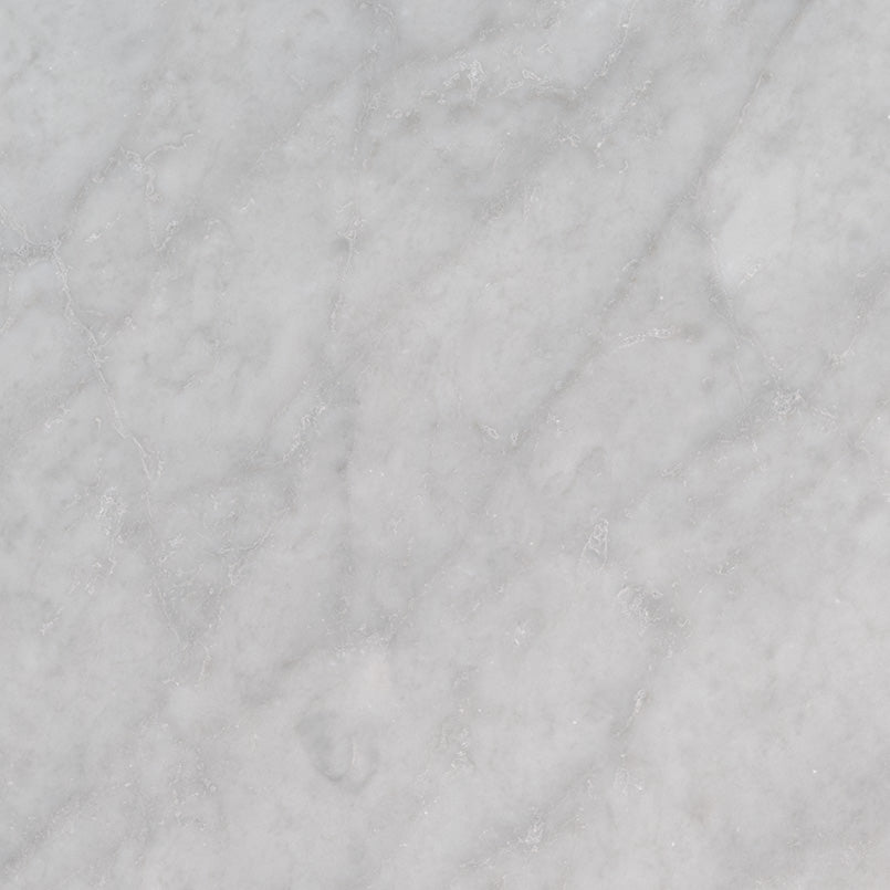 MSI - Carrara White 18 in. x 18 in. Marble Tile - Honed