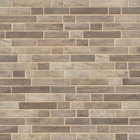 MSI - Driftwood Interlocking 6mm Glass Mosaic Tile
