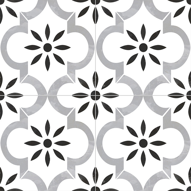 MSI - Kenzzi 8 in. x 8 in. Porcelain Tile Collection - Azila