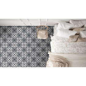 MSI - Kenzzi 8 in. x 8 in. Porcelain Tile Collection - Brina Room Scene