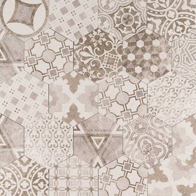 MSI - Kenzzi 7 in. x 8 in. Porcelain Tile Collection - Mixana Hexagon