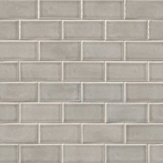 Msi Highland Park 3 In X 6 In Dove Gray Subway Tile