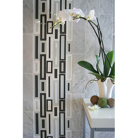 Maniscalco - Gosford Glass and Stone Mosaics - Water Jet Frames - Terrigal Blend