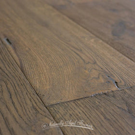 Naturally Aged Nightfall Hardwood Flooring Closeup