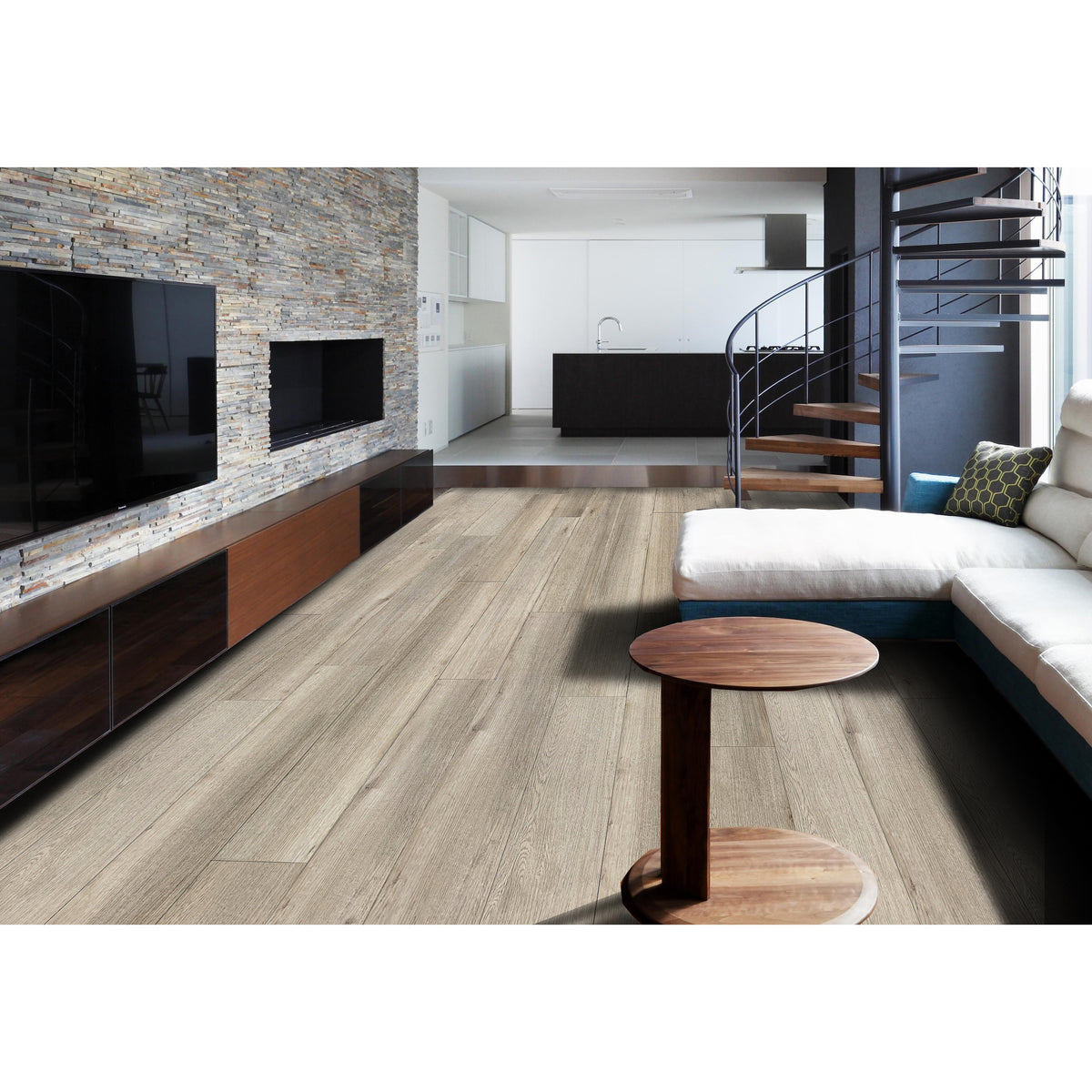 NexxaCore Luxury Vinyl Plank - The Cosmos - Phoebe Installed