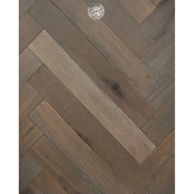 Provenza Floors - Herringbone Reserve Collection - Stone Grey
