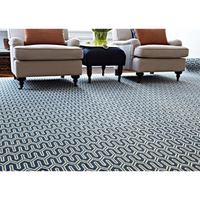 Stanton - Baltimore Rug - Nautical Blue