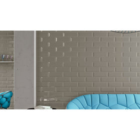 Stonepeak Ceramics - Adamas 4 in. x 12 in. Salvia Porcelain Wall Tile