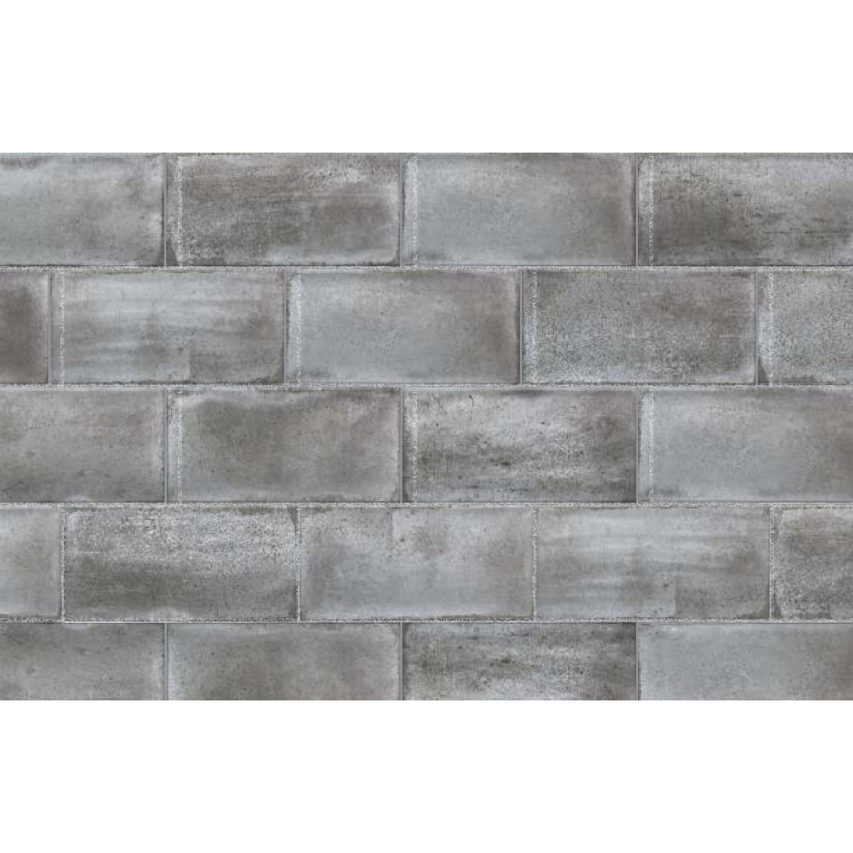 Topcu - Vita Decorative Wall Tile 4 in. x 8 in. - Grafite