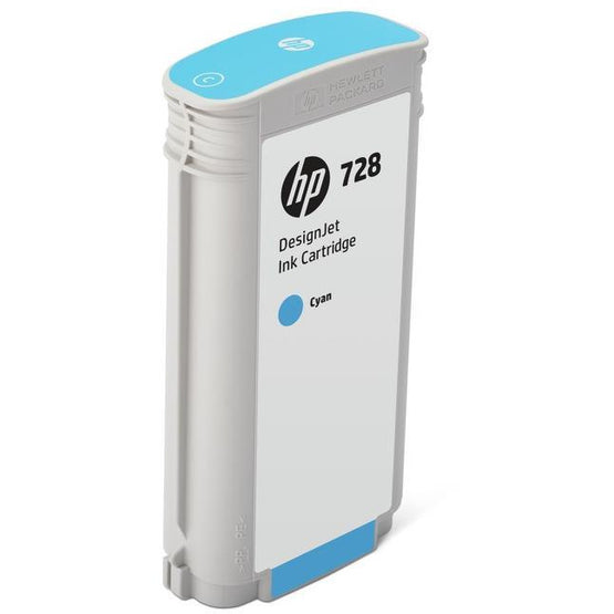 HP F9J67A 728 CYAN INK CART 130ML