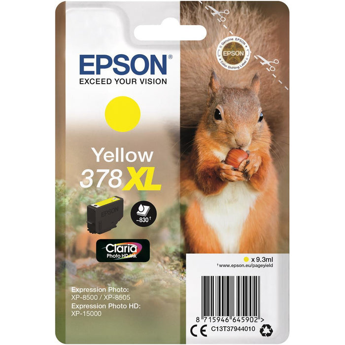 Epson Xp8500/8505 gult blekhylki 9.3ml