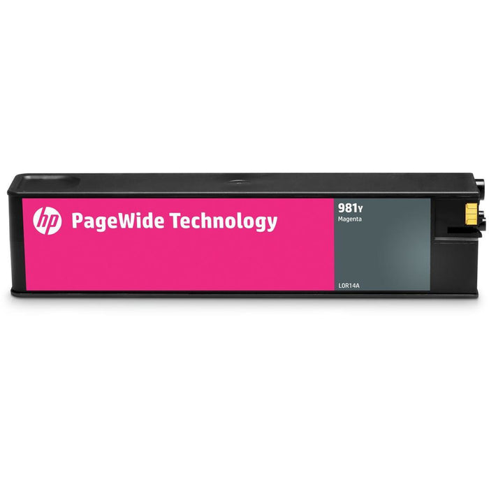 HP 981Y (prentar:  20,000 síður) Extra XL Original rautt PageWide Cartridge fyrir PageWide Enterprise Color 556dn/556xh/586z/586dn/586f Printers