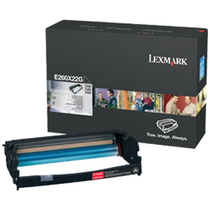 Lexmark E260X22G (Yield: 30,000 Pages) Black Photoconductor Imaging Drum Unit
