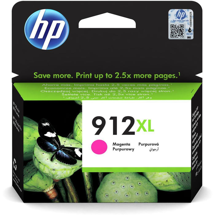 HP 3YL82AE 912XL MAGENTA INK 825 PAGES