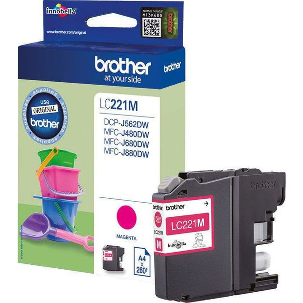 Brother DCPJ562Dw/MFCj480Dw/680/880 Mage Ink Car