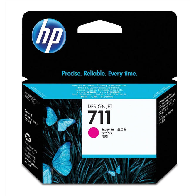 HP 711 (Volume: 29ml) rautt blekhylki