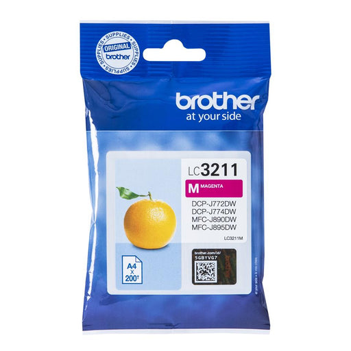 Brother LC3211M rautt Ink 12ml