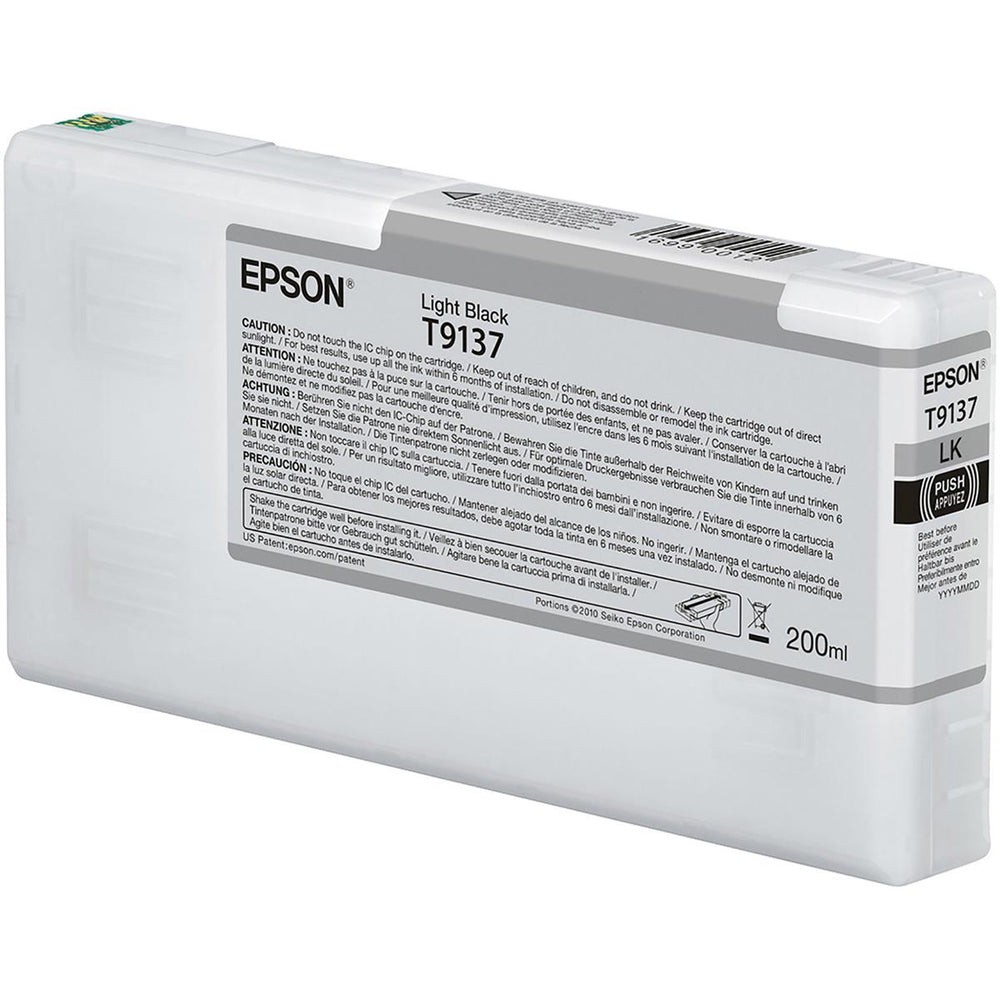 Epson SC P 5000 Light svart Ink 200ml