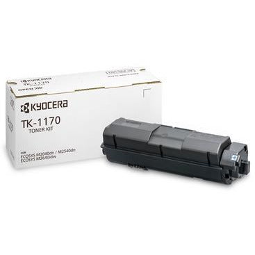 Kyocera dufthylki TK-1170  fyrir ECOSYS M2040dn, ECOSYS M2540dn, ECOSYS M2640idw Multi Function Printers Yield 7,200 Pages (svart)
