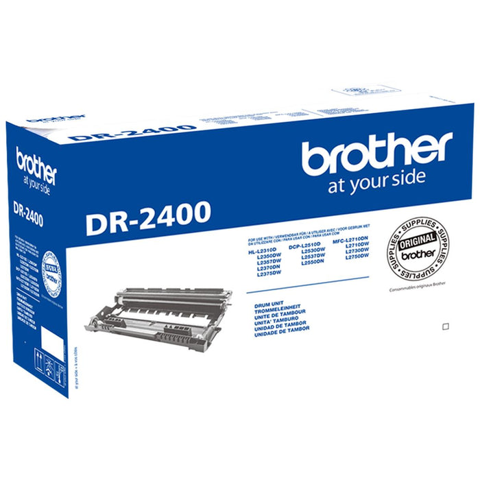 Brother DR-2400 (Yield: 12,000 Pages) Grey Imaging Drum