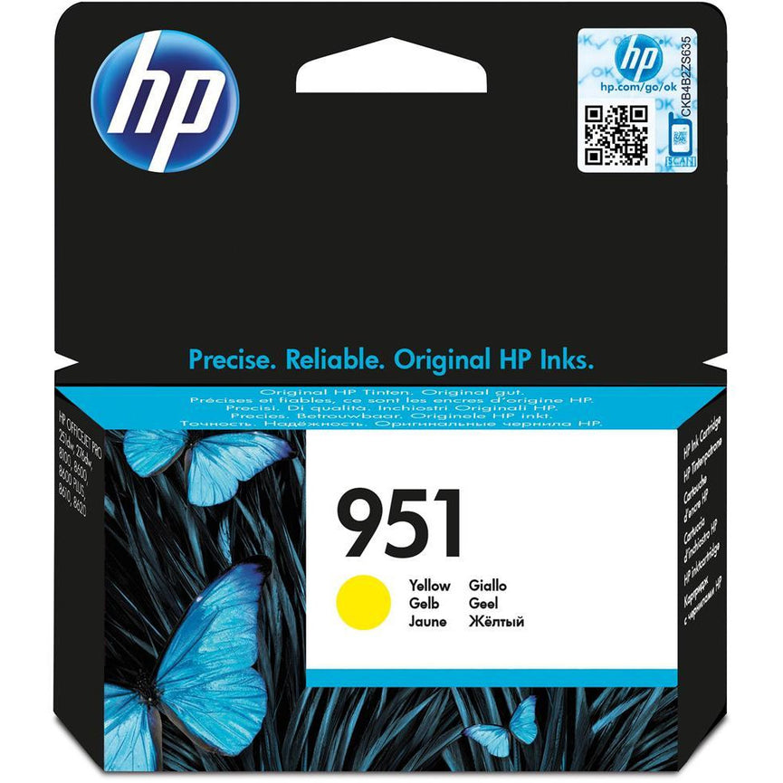 HP CN052AE 951 YELLOW INK CART 700 PAGE