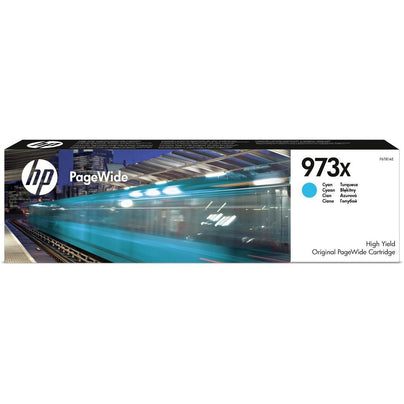 HP 973X (Prentar: 7,000 síður) XL Original PageWide Cartridge (blátt)