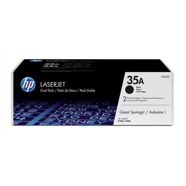HP CB435Ad LaserJet P1005 P1006 Twin Pack