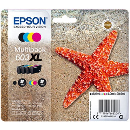 EPSON 603XL BK/C/M/Y MULTIPACK INK CART