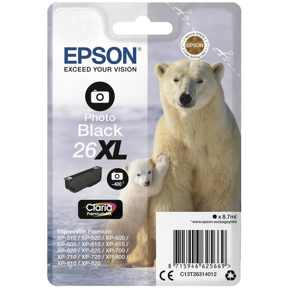 Epson XP600/700/800 Photo Bk Ink Ca 8.7ml