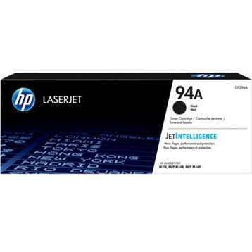HP CF294A 94A BLACK TONER CARTRIDGE 1.2K