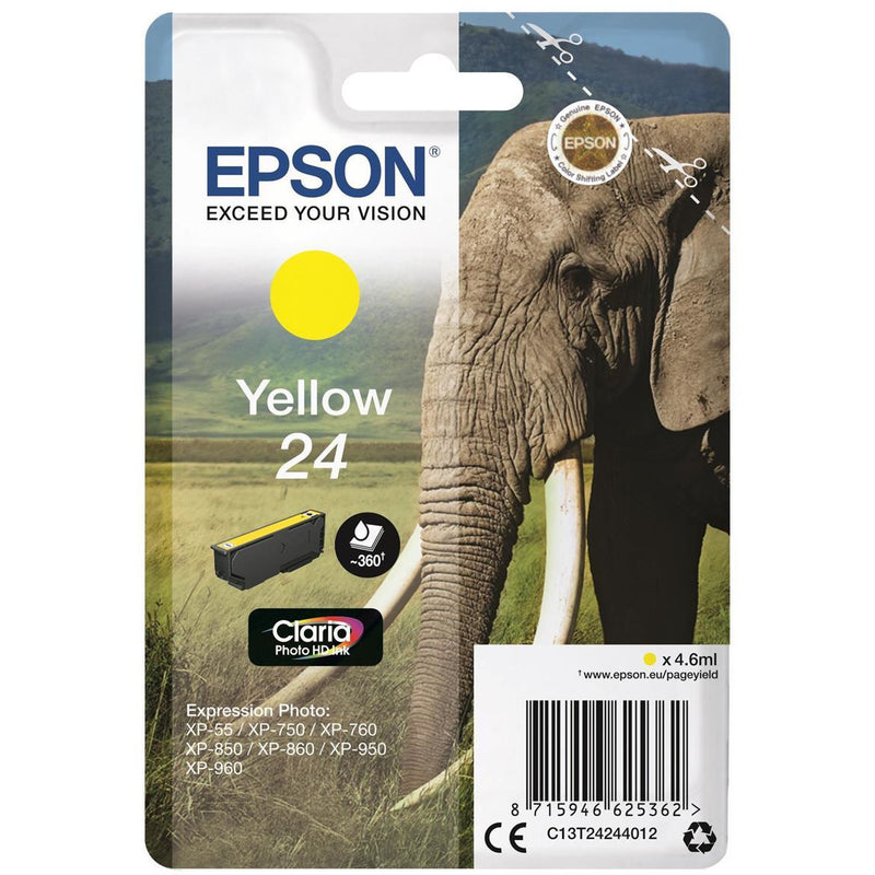 Epson XP750/850 gult blekhylki 4.6ml