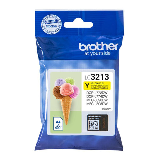 Brother LC3213Y gult Ink 10ml