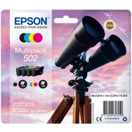 Epson 502 Pack Of 4 blekhylki