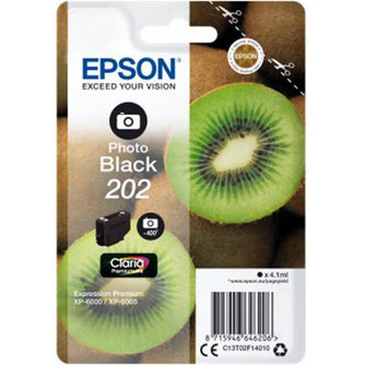 Epson 202 Photo svart Standard blekhylki 4.1ml