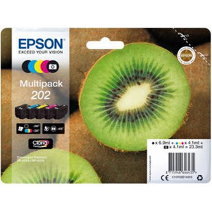 Epson 202 Multipack Bk/C/Y/M/Photo blekhylki
