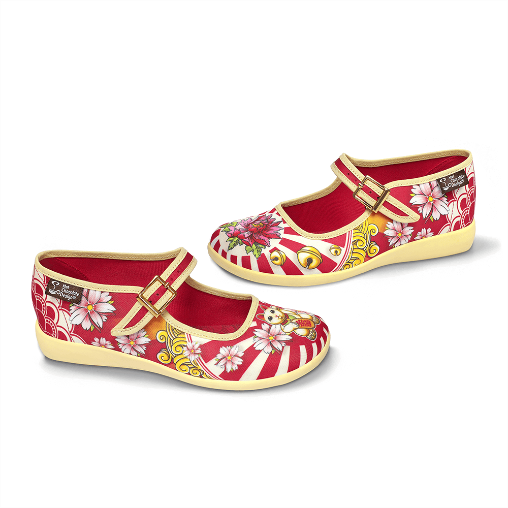 Chocolaticas® Neko Women's Mary Jane Flat