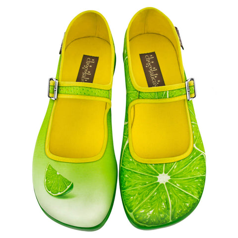 Chocolaticas® Lemon Women's Mary Jane Flat