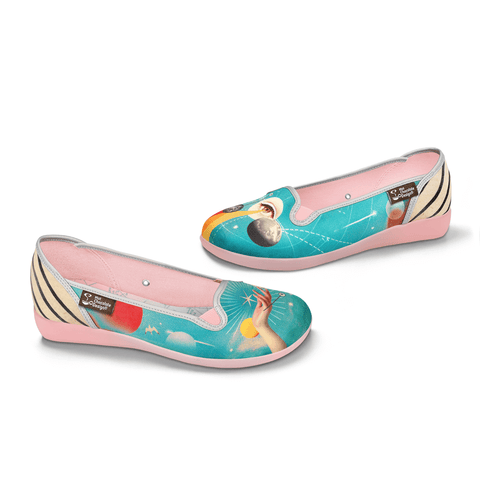 Chocolaticas® Astrology Women's Slip-On