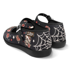 Chocolaticas® Dark Tattoo Women's Mary Jane Flat