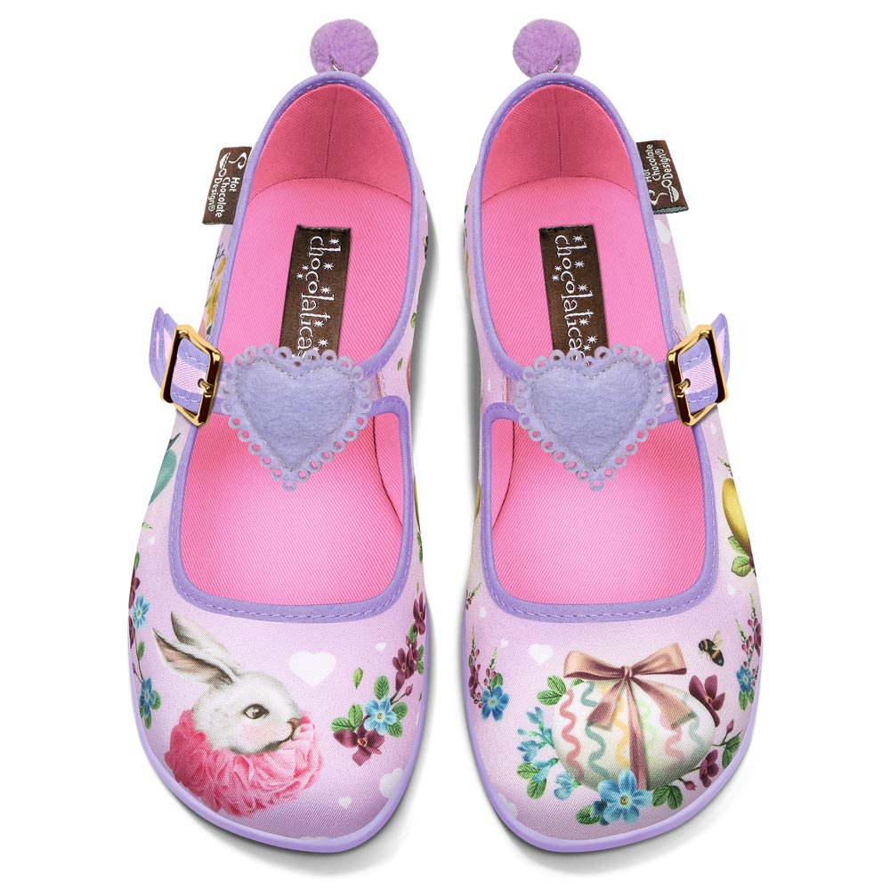 Chocolaticas® Easter Women's Mary Jane Flat