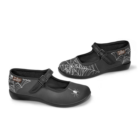 Chocolaticas® Spider Women's Mary Jane Flat