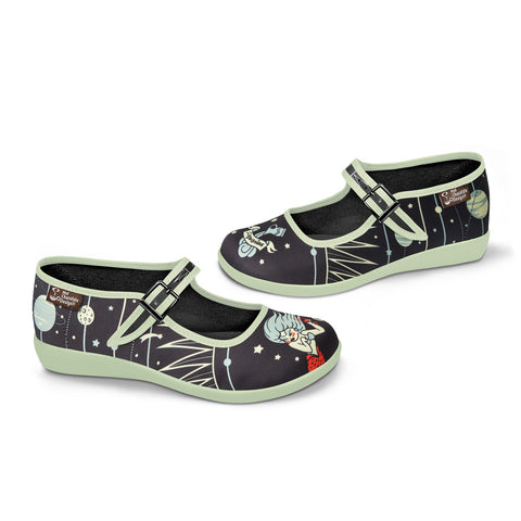 Chocolaticas® Aquarius Women's Mary Jane Flat