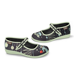 Chocolaticas® Gemini Women's Mary Jane Flat