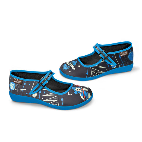 Chocolaticas® Pisces Women's Mary Jane Flat